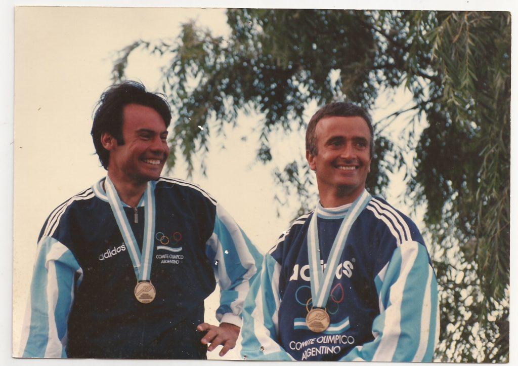 Dupla Billoch-Zizzi medalla de bronce